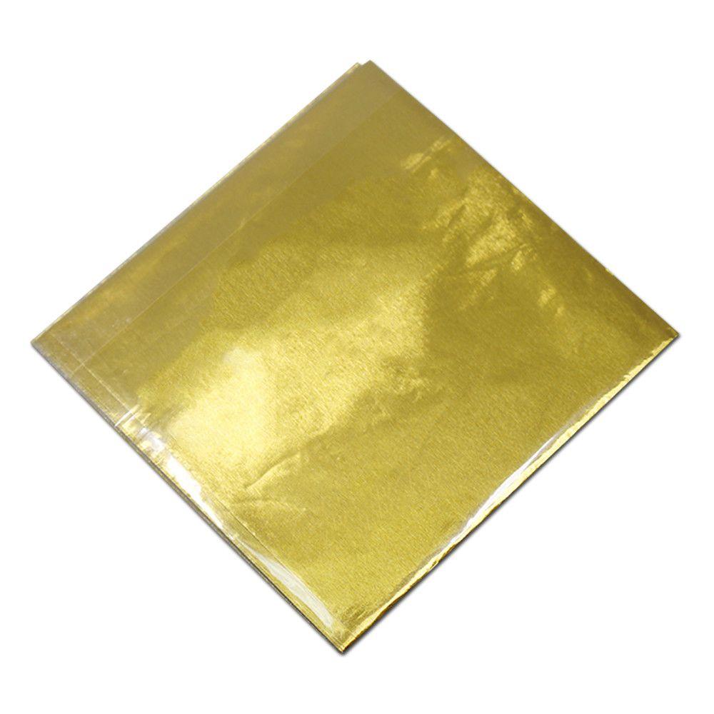 800 Pz Lotto 8x8 cm Foil colorato Mylar Carta da regalo per cioccolatini Caramelle colorate Tin Foil Candy Party Eventi Forniture Carta da imballo