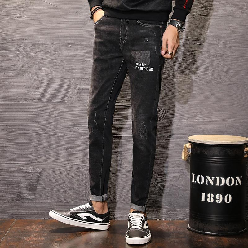 Cheap wholesale 2019 new autumn winter Hot selling men's fashion casual Popular long Pants MW236