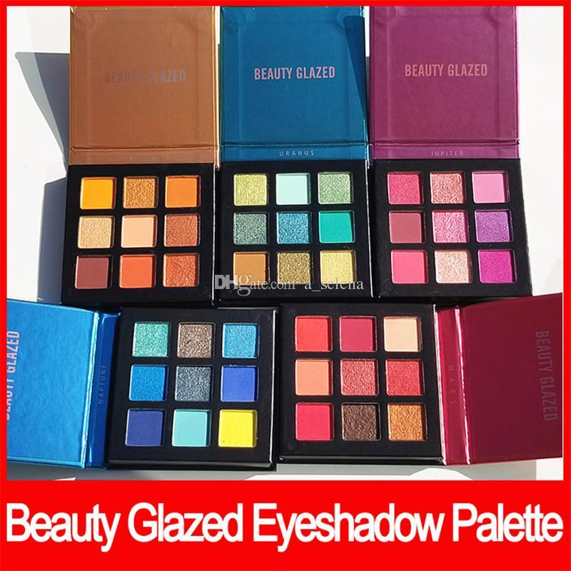 Güzellik Sırlı göz makyajı göz farı paleti 9 Renkler parlak göz farı Yeni çıplak takıntıları Metal mat pırıltılı Göz Farı ücretsiz kargo