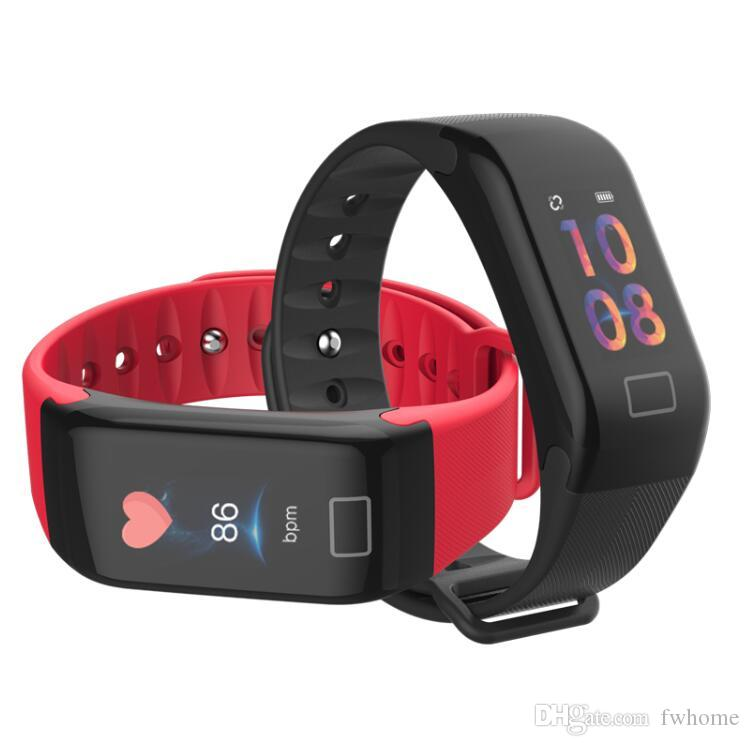 Smart Watch With Heart Rate Blood Pressure Monitor Fitness Tracker Function IP67 Smartwatch Connect Phones Bluetooth Sport Wrist Watch