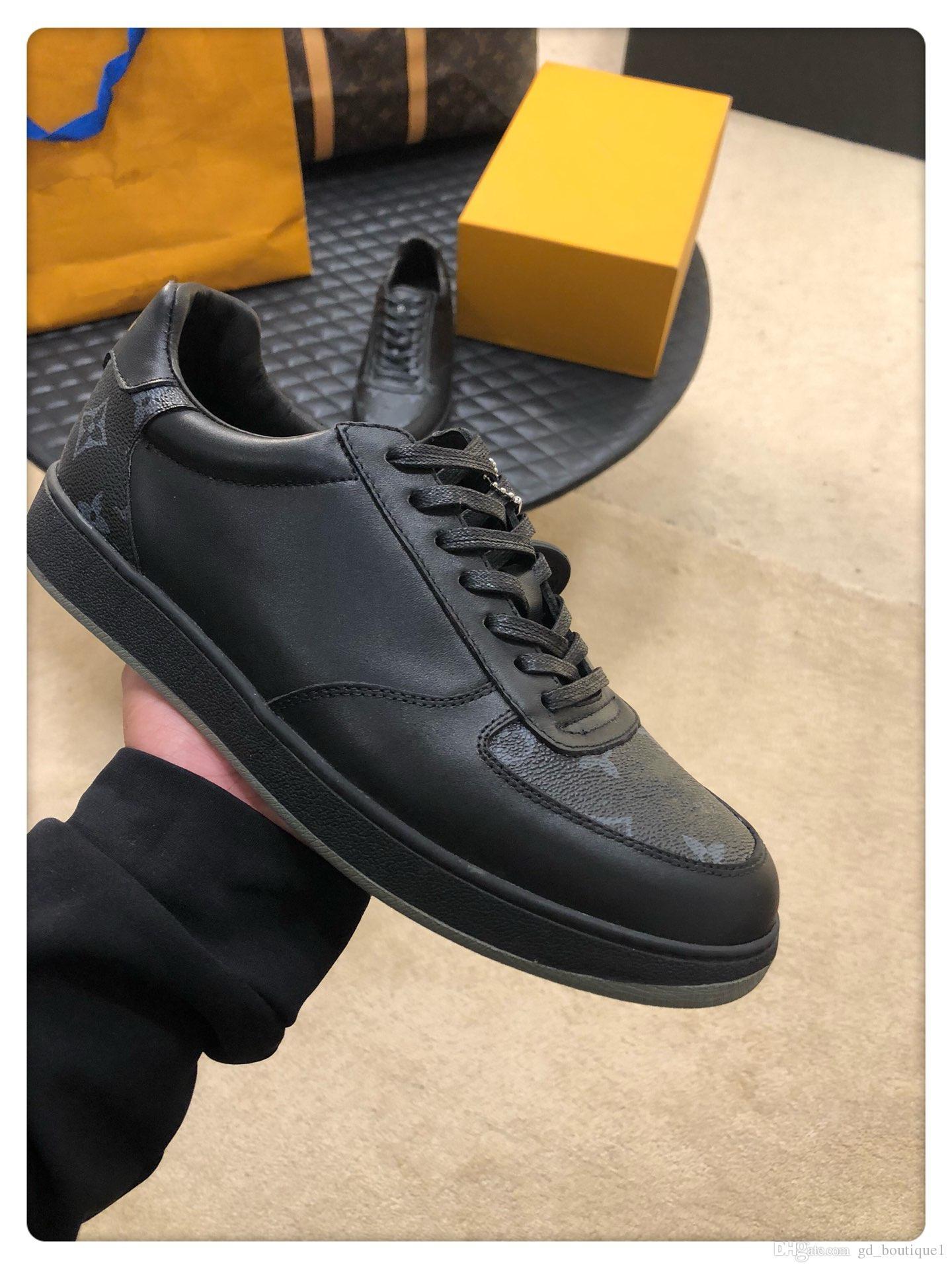 louis vuitton LV Mode Schuhe Herren Run Away Sneaker Luxus Chaussures gießen hommes Fashion Art Mens Schuhe Casual mit Origin Box Fußbekleidungen Verkauf