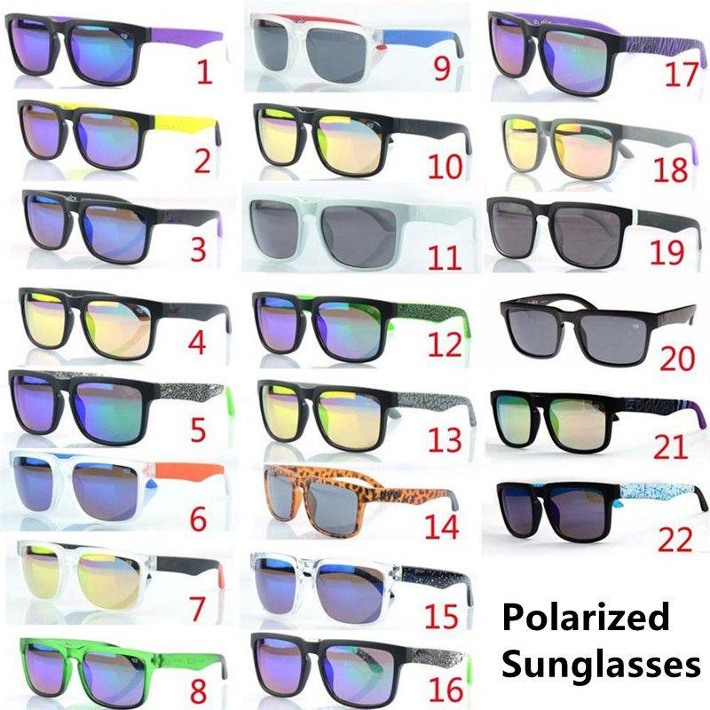 تعزيز أزياء نمط جديد 22 ألوان الاستقطاب النظارات الشمسية الرجال العلامة التجارية مصمم النظارات الرياضية نظارات الرجال النظارات