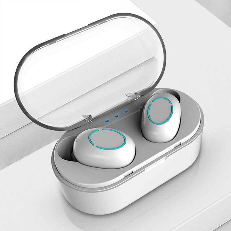 جديد بلوتوث اللاسلكية سماعة TWS 5.0 سماعة بلوتوث سماعات الأذن كرت أفضل سماعات للماء ايفي جودة الصوت