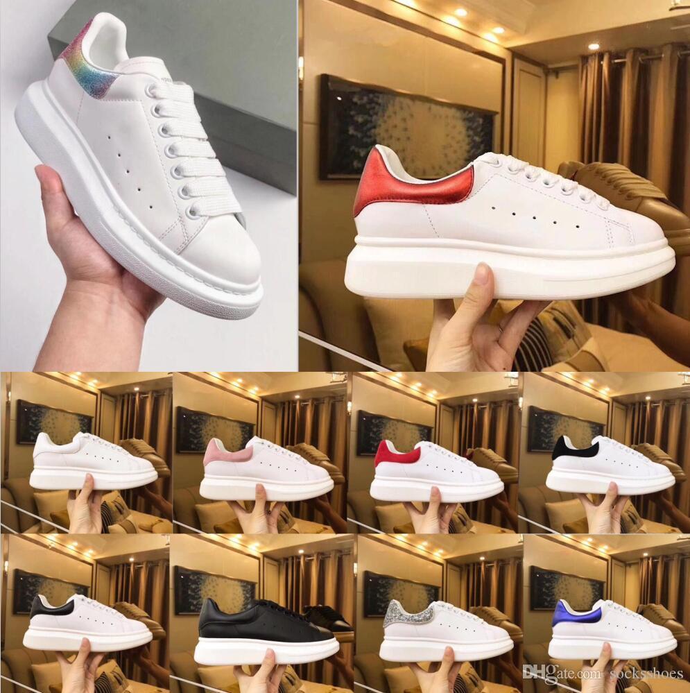 Лучшие Роскошные дизайнерские туфли женские мужские тренеры белые кожаные туфли на платформе плоские повседневные свадебные туфли замшевые спортивные кроссовки