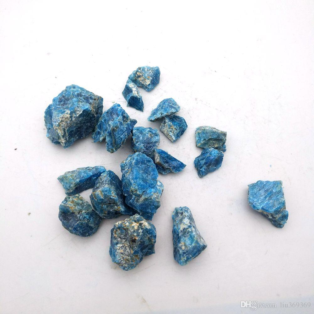100G Natural Azul Turquesa-áspero piedra suelta granos de espécimen