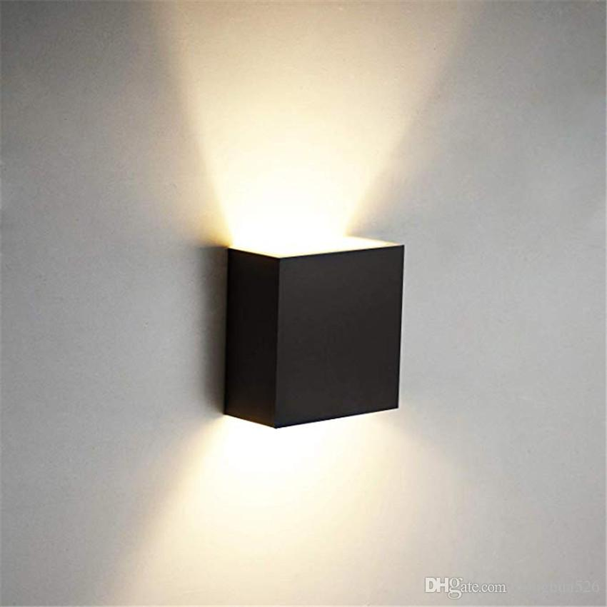 Cube COB LED Indoor Lighting Wall Lamp Modern Home Lighting Decoration Sconce Aluminum Lamp 6W 85-265V For Bath Corridor