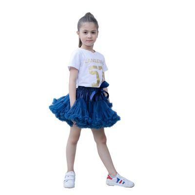 Prenses Bow Tutu Dantel Etek Bebek Kız Tül Etekler Ruffles Çok Renkli Tatil Parti Giyim Yüksek Kaliteli