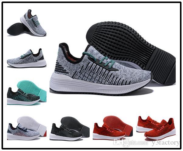 С коробкой обувь для ходьбы цена завода удобные кроссовки вяжет кроссовки 2018 Мужчины амортизатор альпинист лучшее качество спортивная обувь
