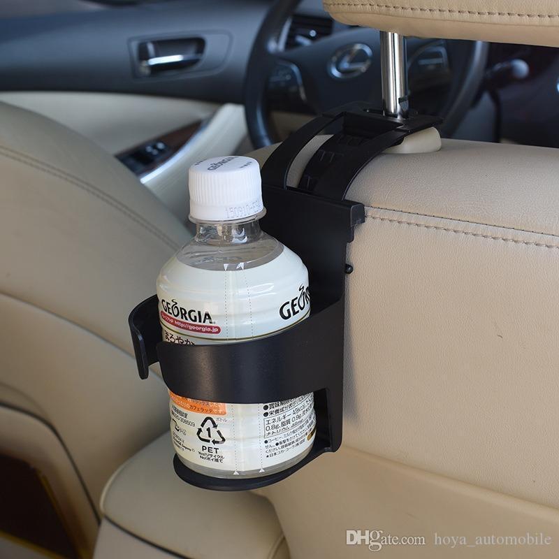 Black Plastic Skull Head Design Drink Can Cup Bottle Holder Mount Stand for Car