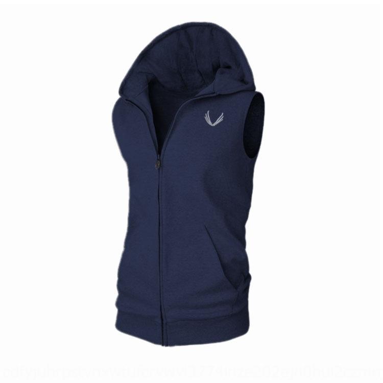 q9dQR Ala ricamo ASRV maniche Forma fisica del maglione giubbotto Ala ricamo ASRV maniche felpa zip Felpa zip idoneità sudore