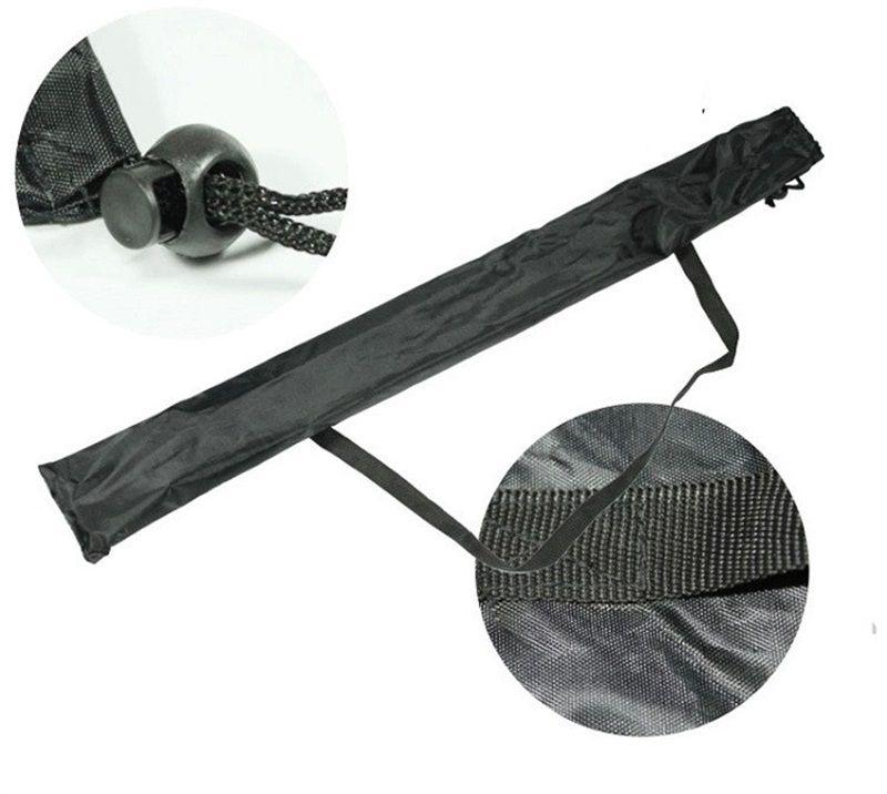 Nylon Outdoor Trekking Poles Fittings Portable Black Receptacle Bag Anti Wear Eco Friendly Stick Bag Fold Hot Sale 2 8clI1