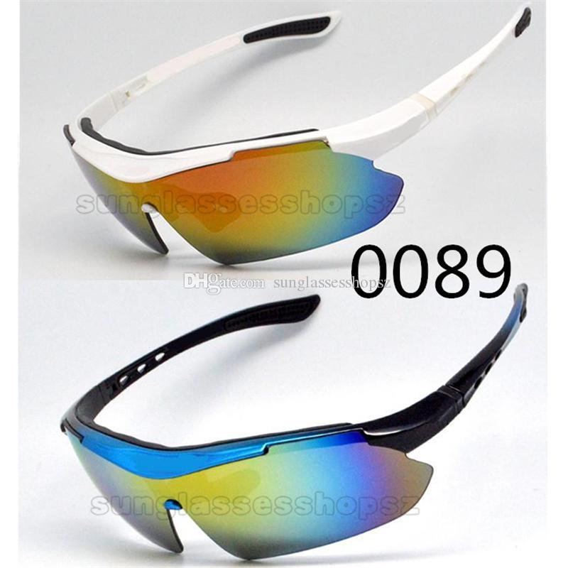 Güneş Gözlükleri İçin Erkekler Yaz Gölge UV400 Koruma Spor Güneş 4 Renkler balıkçılık Polarize Rüzgar kum kontrol güneş gözlüğü spor