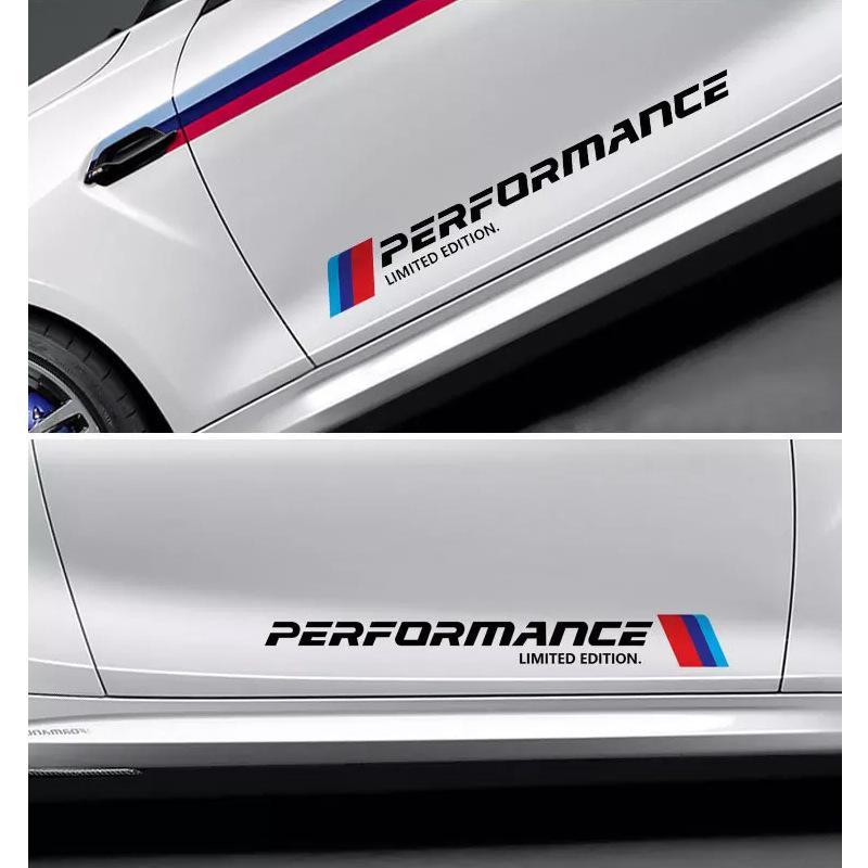 M PRESTAZIONI Adesivo per porta auto Adesivo per veicolo Testa coda Adesivo per BMW Mini Cooper Adesivi per specchietto retrovisore