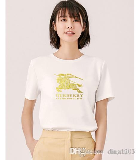 animal col rond dames à manches courtes en coton de haute qualité dames de la mode casual cerise cerise T-shirt