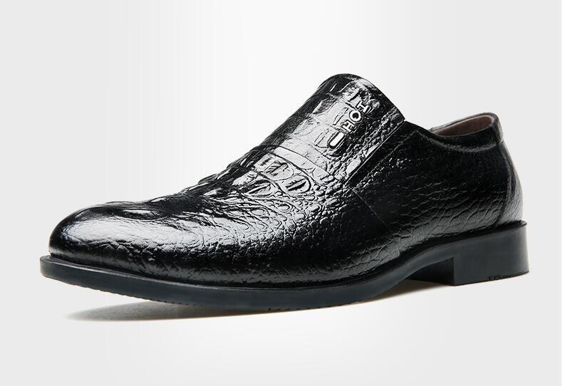 Yaz timsah tahıl hakiki deri makosenler Sürüş Doudou ayakkabı Mens oxfordlar Erkek elbise ayakkabı, Lüks gündelik ayakkabı