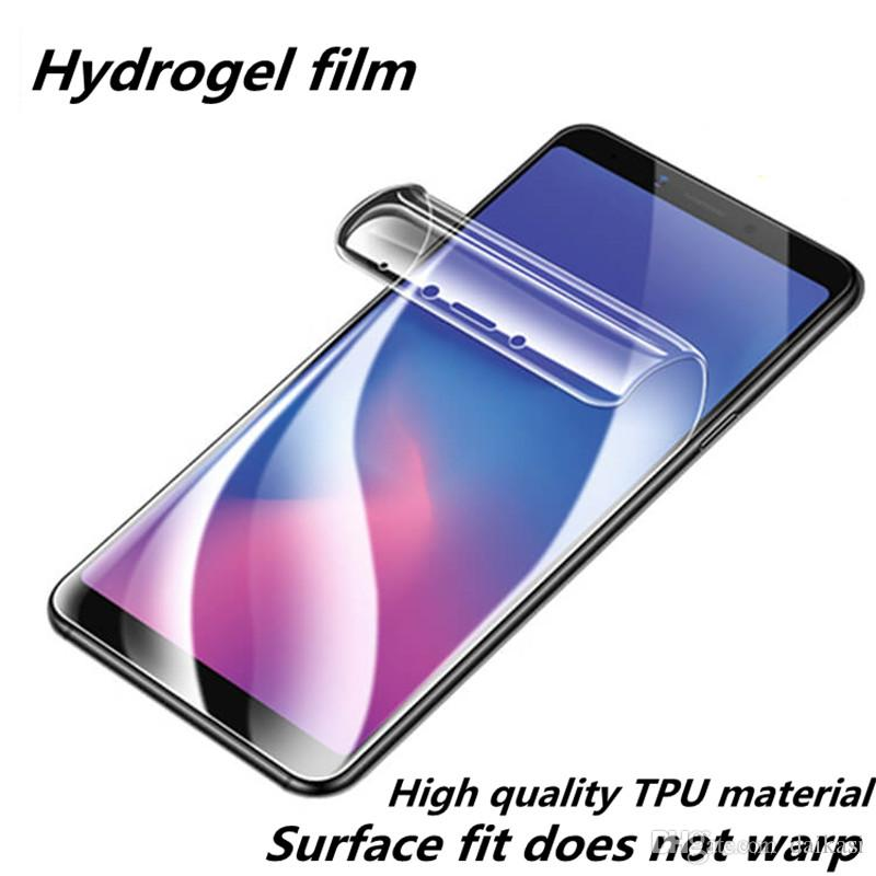 Hydrogel film full protective film for Samsung Galaxy S10 S10Lite S10Plus S8 S9 Note 8 9 iPhone XS Max XR 11 11Pro Max soft screen protector