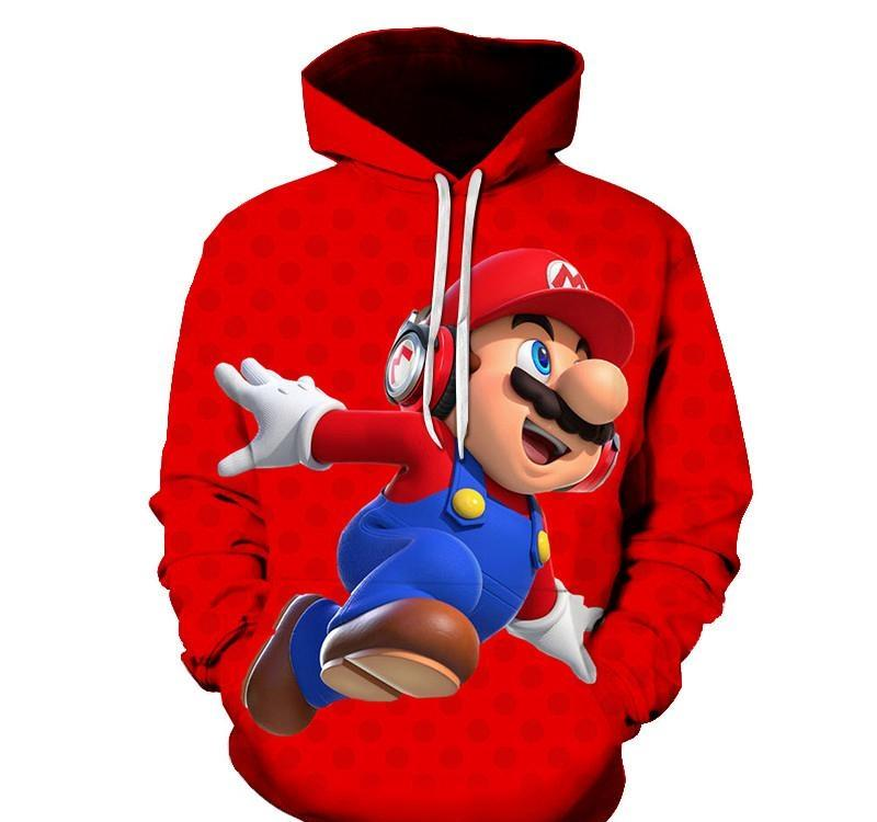 BRAND NEW MARIO BLUE HOODED TRACKSUITS  SIZE 3-10