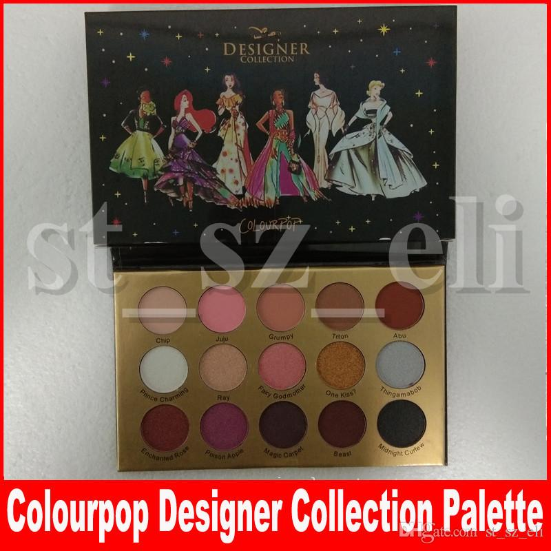 Face Makeup Colourpop Designer Collection 15 Colors Matte Natural Eyeshadow Palette Eye Shadow Palettes