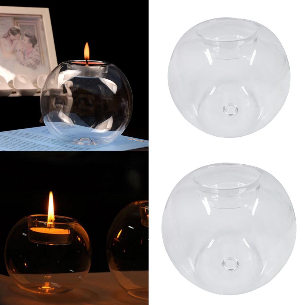 Ball Shape Tea Light Holder Clear Glass Candle Holder Centerpieces Decoration Glass Candle Holders Glass Candle Holders Cheap From Gralara 11 35 Dhgate Com