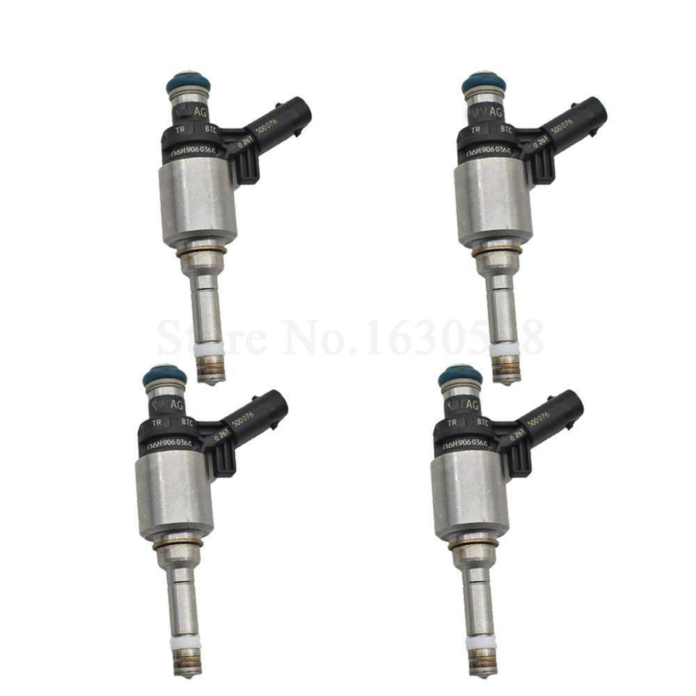 4pcs Injecteurs de carburant Buse pour Audii 06H906036H 06H906036G 1.8T Gen 8.7x4.4cm Pièces de rechange auto