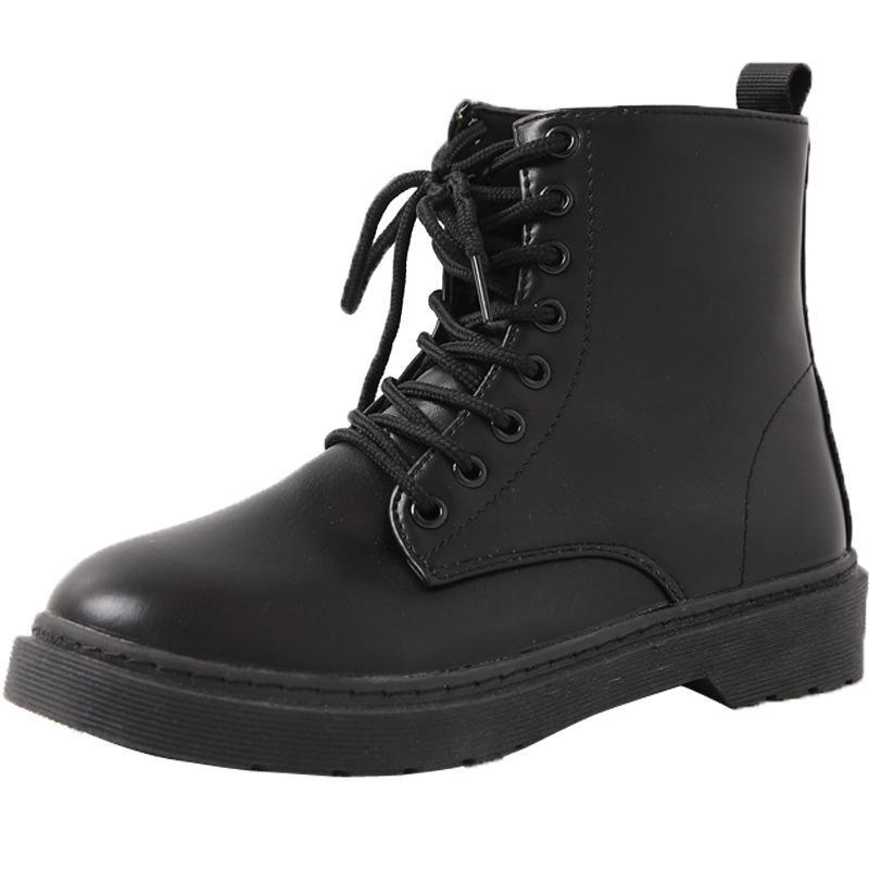 sapatos femininos de forma considerável Martin botas 2020 Outono nova Europa e América super-fogo grossa com solado de botas de locomotivas