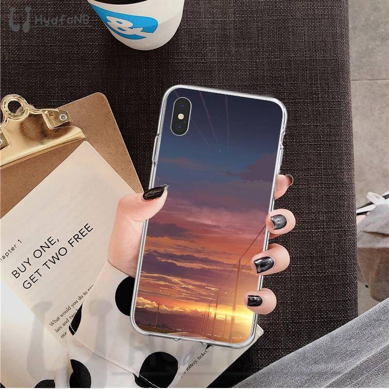 2020 Case telefone Charming do sol TPU macio para iPhone 11 pro XS MAX 8 7 6 6S Plus X 5 5S SE XR cobrir atacado