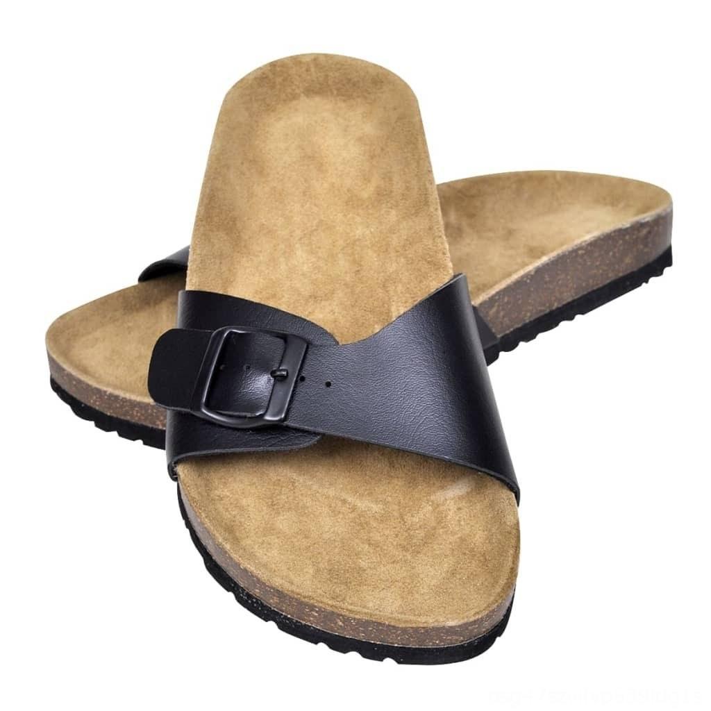 Unisex Bio Cork Sandália com 1 Buckle outros acessórios de moda Strap Tamanho 65 Preto Unisex Bio Cork Sandália com 1 Buckle Outros Moda Acce