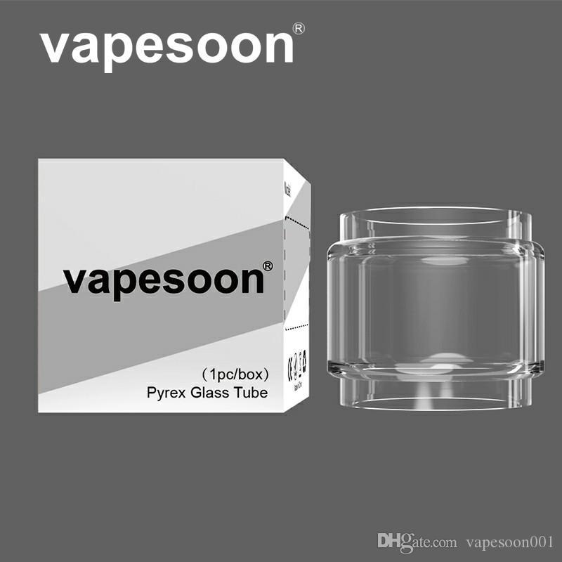 Otantik vapesoon yağ uzatmak kabarcık cam tüp skrr sopa için v9 max tfv12 prens tfv16 lite mfeng taç 4 tfv9 falcon kral vb DHL ücretsiz