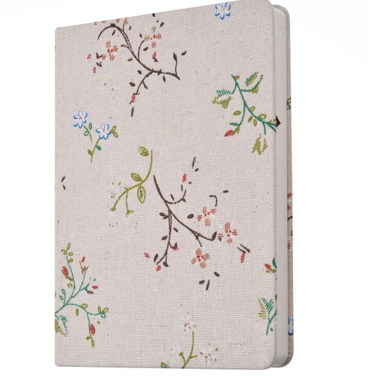 creativo Panno notebook floreale scuola studente note libri carino fiori striscia copertura blocchetti per appunti coreano design business notapdas diario di viaggio