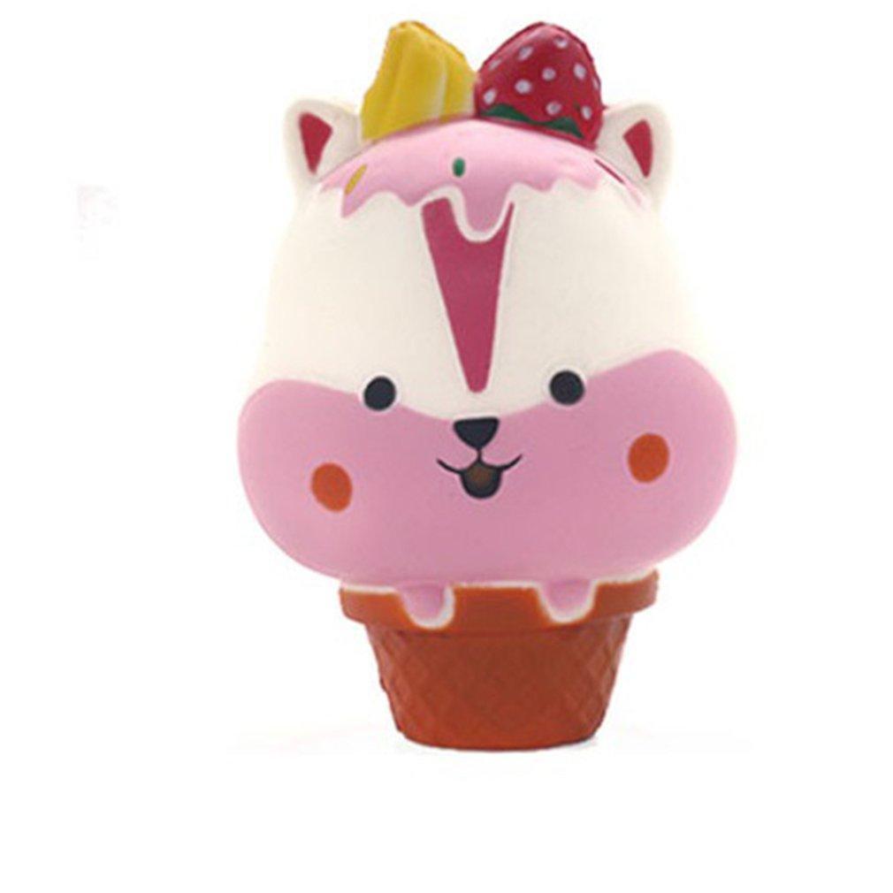 Rimbalzo lento decompressione Giocattolo sveglio molle comprime Cute Girl Boring Vent simulazione alimentari Ice Cream Giocattolo dei bambini