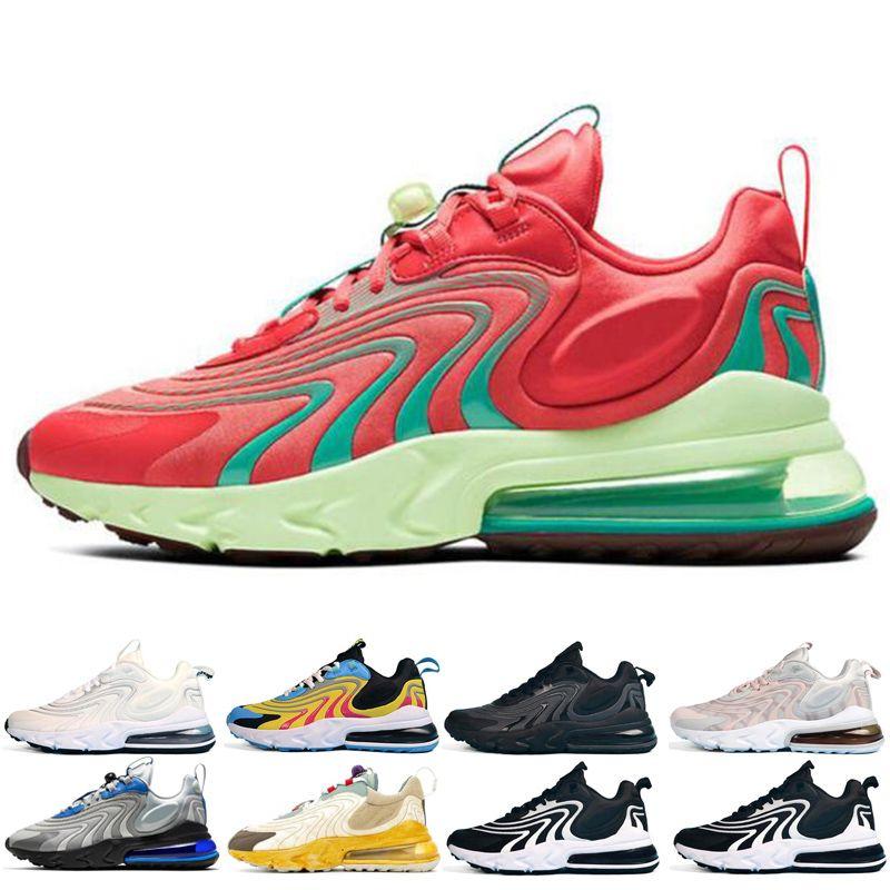Nova chegada Cactus Trails Reagir ENG Tênis de corrida para Calçados Mens fashion Blackened Azul Royal Homens Mulheres Sports Sneakers
