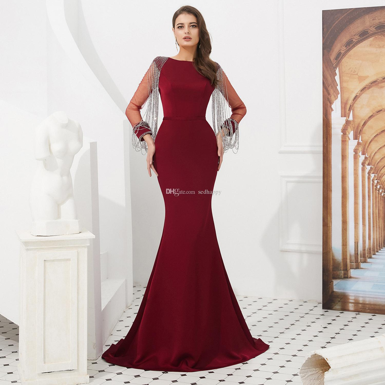 MAGGIEISAMAZING IMAGEM REAL jóia Major Beading trem de varredura Exposto Boning prom Vestidos formal vestido frete grátis CYH02019F002