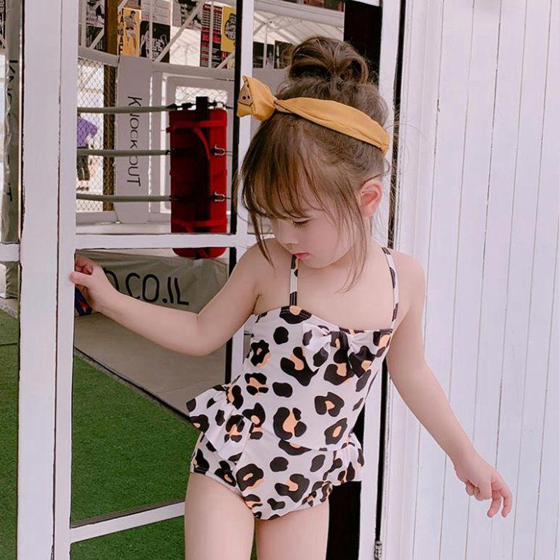 Maillot de bain bébé fille grand arc filles Maillots de bain Vêtements de bain réglable jarretelle enfant en bas âge Plage Maillot de bain été Vêtements bébé 2 Conception DW5044