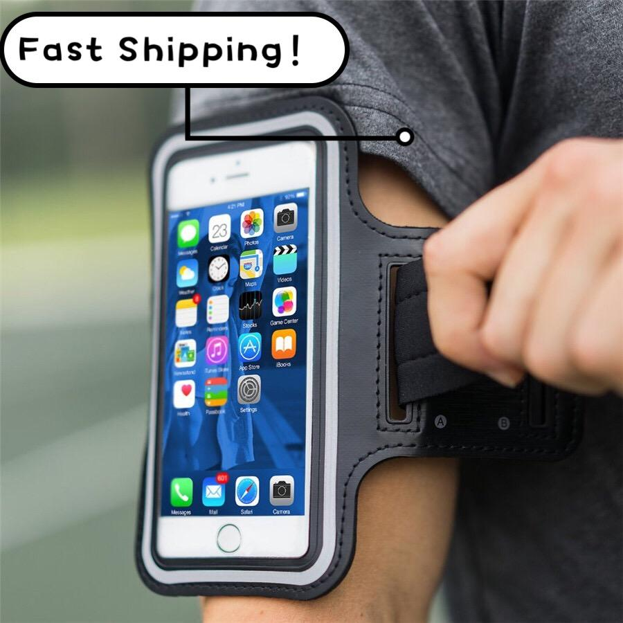 Universal Outdoor Sports Phone Holder braçadeira caso para Samsung corredor da ginástica saco do telefone Arm Caso Band para iPhone