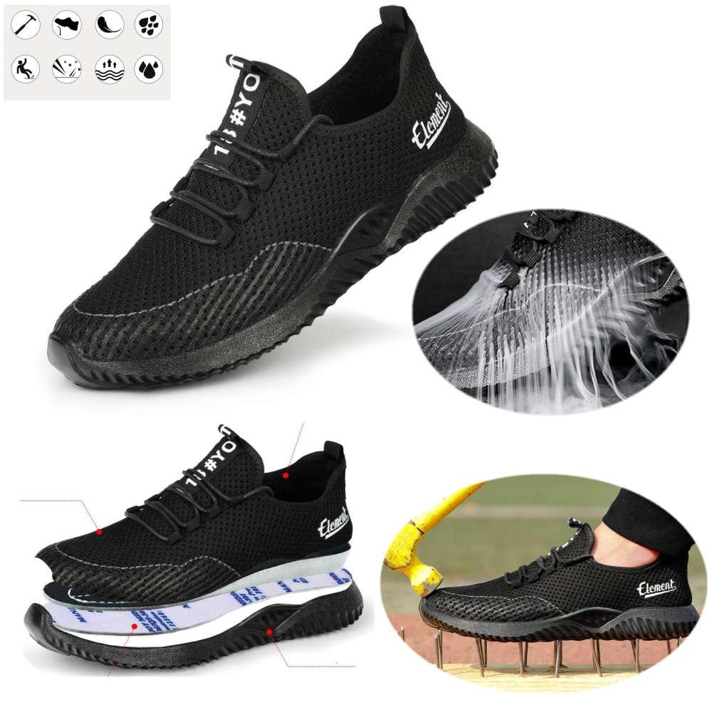 2020 Mens Safety Shoes Womens Steel Toe