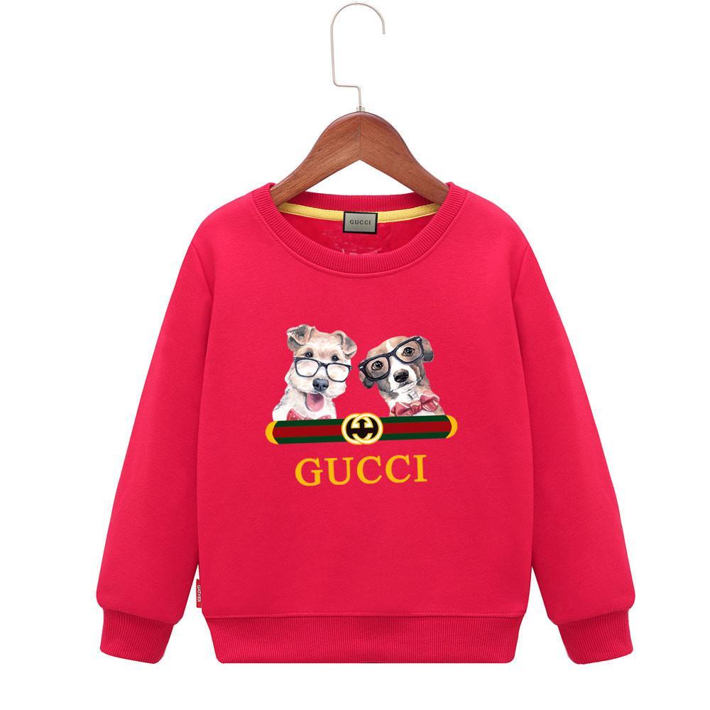 남자 2019 펑키 스웨터 봄 새로운 패턴 소년 까마귀 소녀 어린이 슬리브 머리 스웨터 개