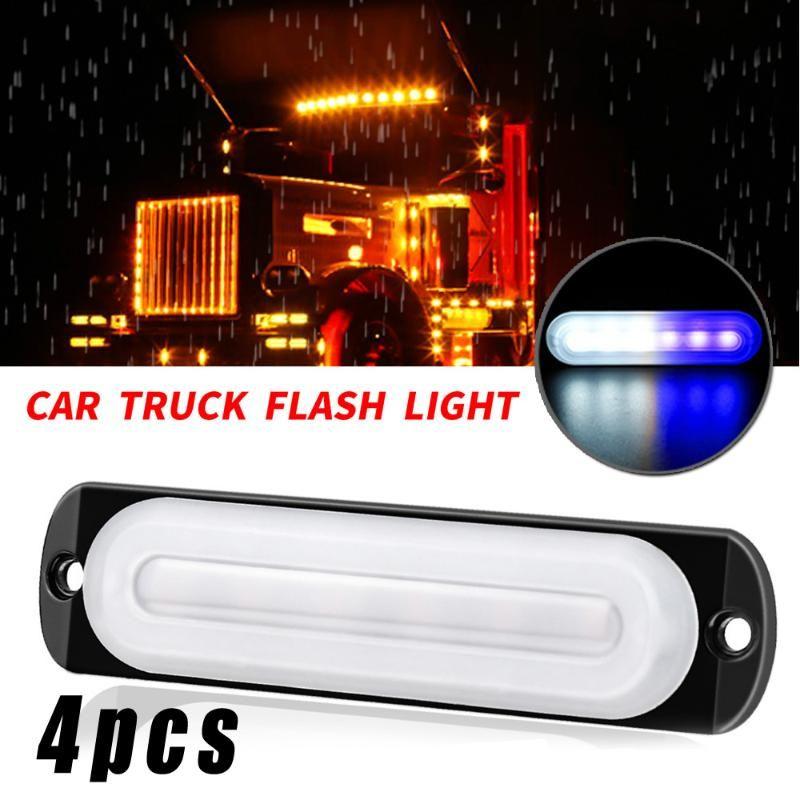 Sostituzione luce del lavoro delle lampadine LED Ricambi auto Bianco + Blu indicatore laterale Lampade
