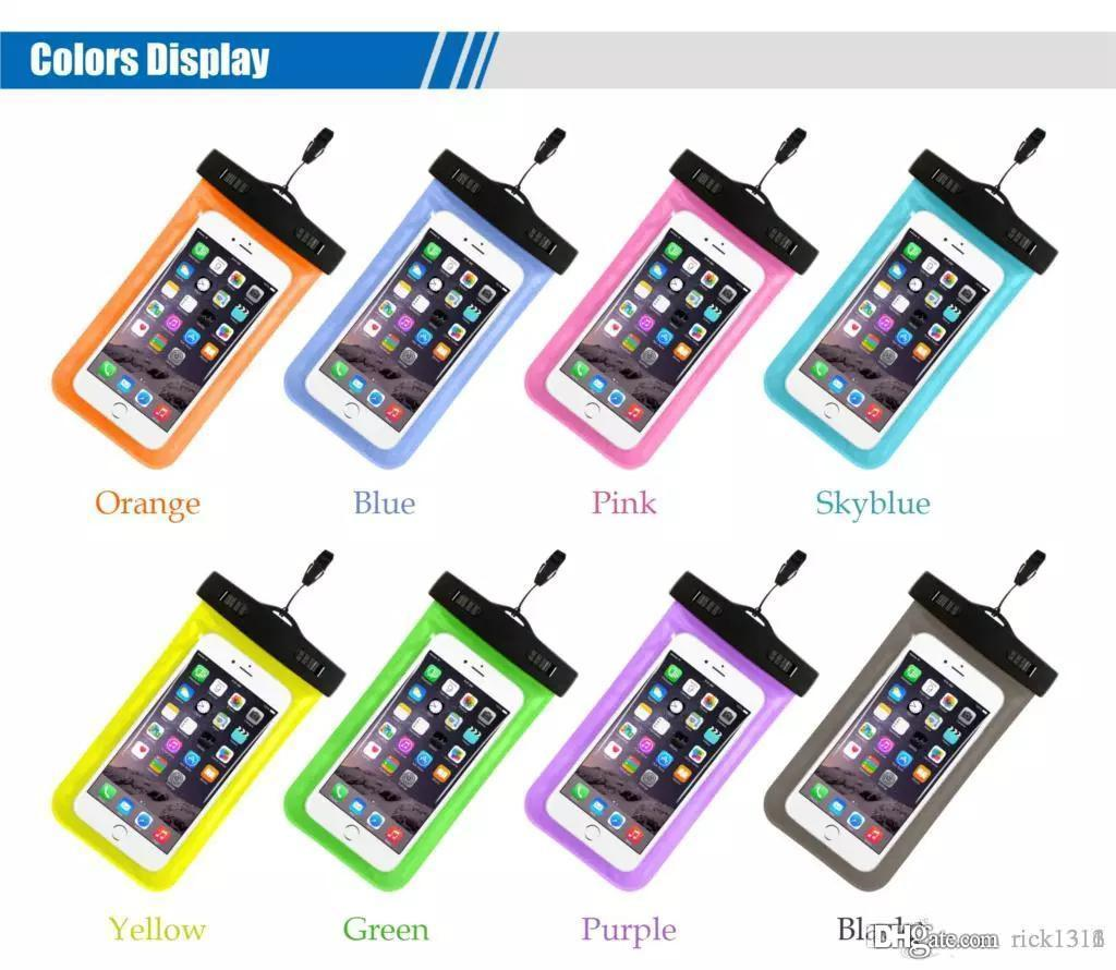 Waterproof Case Water Proof Bag 10 color armband pouch Case Cover For Universal Cell Phone Cases all Cell Phone Cell Phones & Accessories