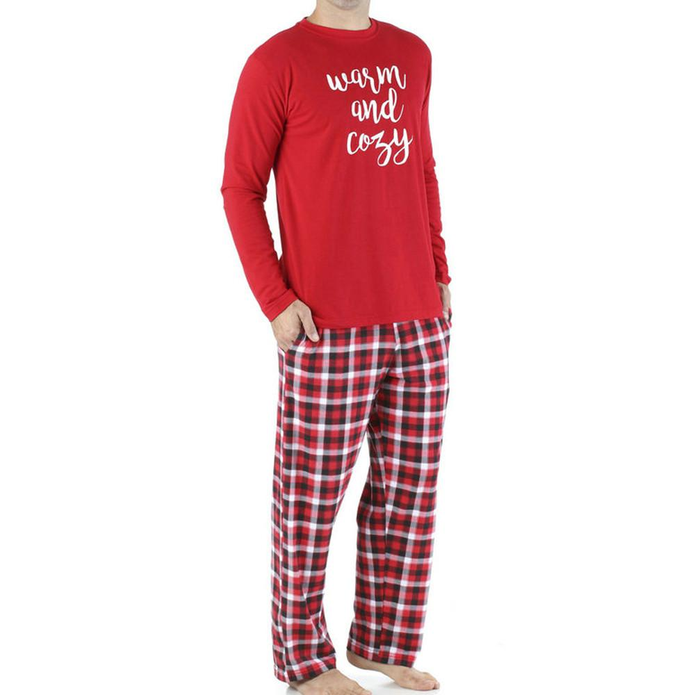 Mens Christmas Pajamas.2019 2019 Men Family Matching Christmas Pajamas Pjs Sets Sleepwear Nightwear Pyjama Funny Father Fashion Sets Newest From Beautyoutfit Price