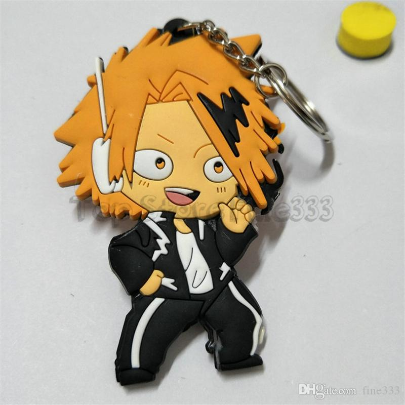 "My Hero Academia Katsuki Bakugou Anime Keychain Rubber 3.5"" X 2"" US Seller"