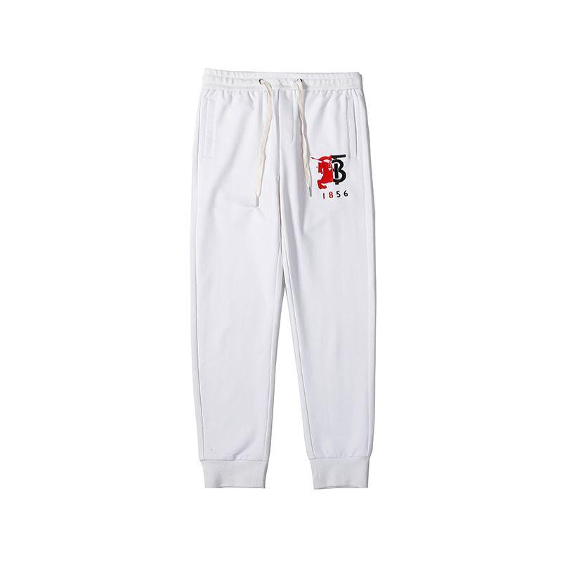 2020 Mens Womens Brandpants Designerpants Fashion Elastic Waist Loose Jogger Long Pants Big B Letter Full Length Pants B1 2022804V