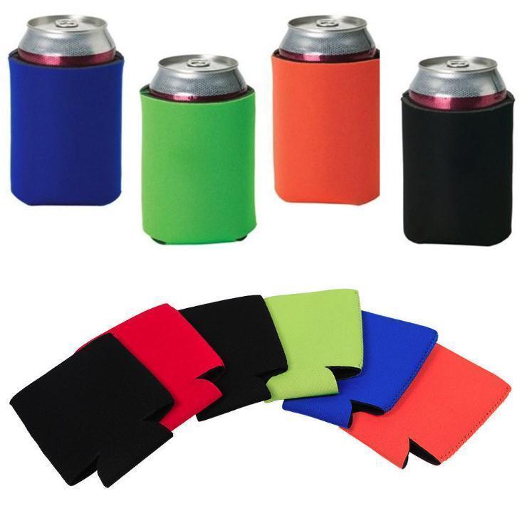 Оптовая продажа 330 мл пивной кола пить может держатели мешок льда рукава морозильник поп-держатели Koozies 12 цвет DHB282