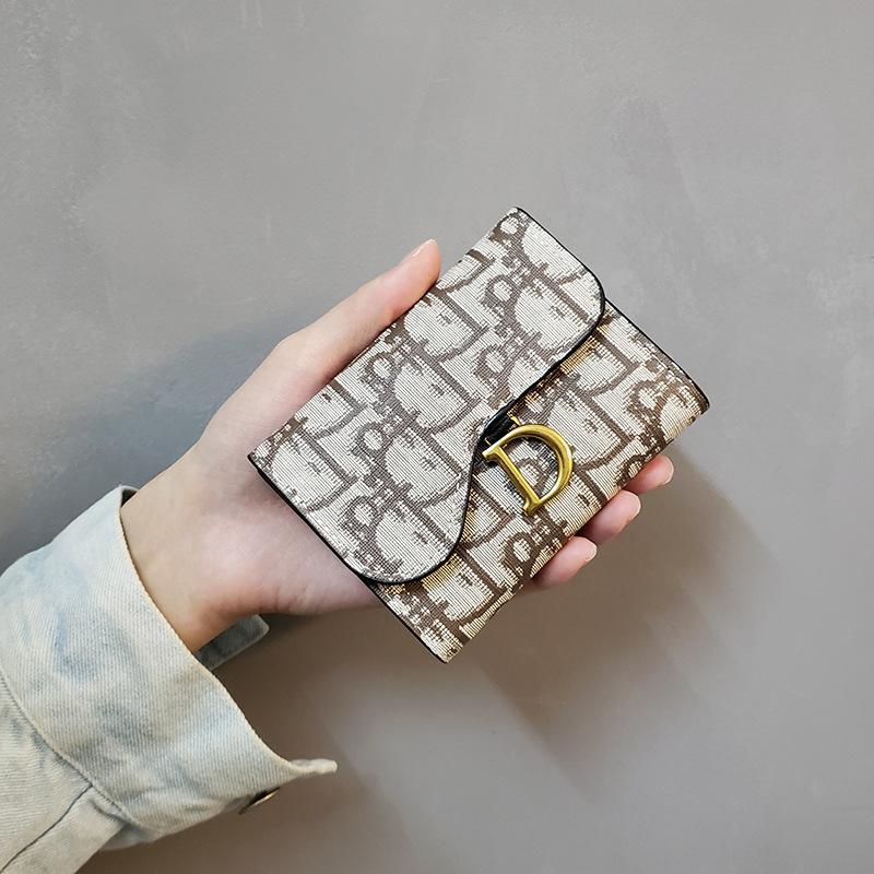 New 2020 Designer-Taschen-Geldbeutel-Qualitäts-Leder Luxus Männer kurze Geldbörsen für Frauen Männer Münzengeldbeutel-Handtasche Kleine Handtasche Mode