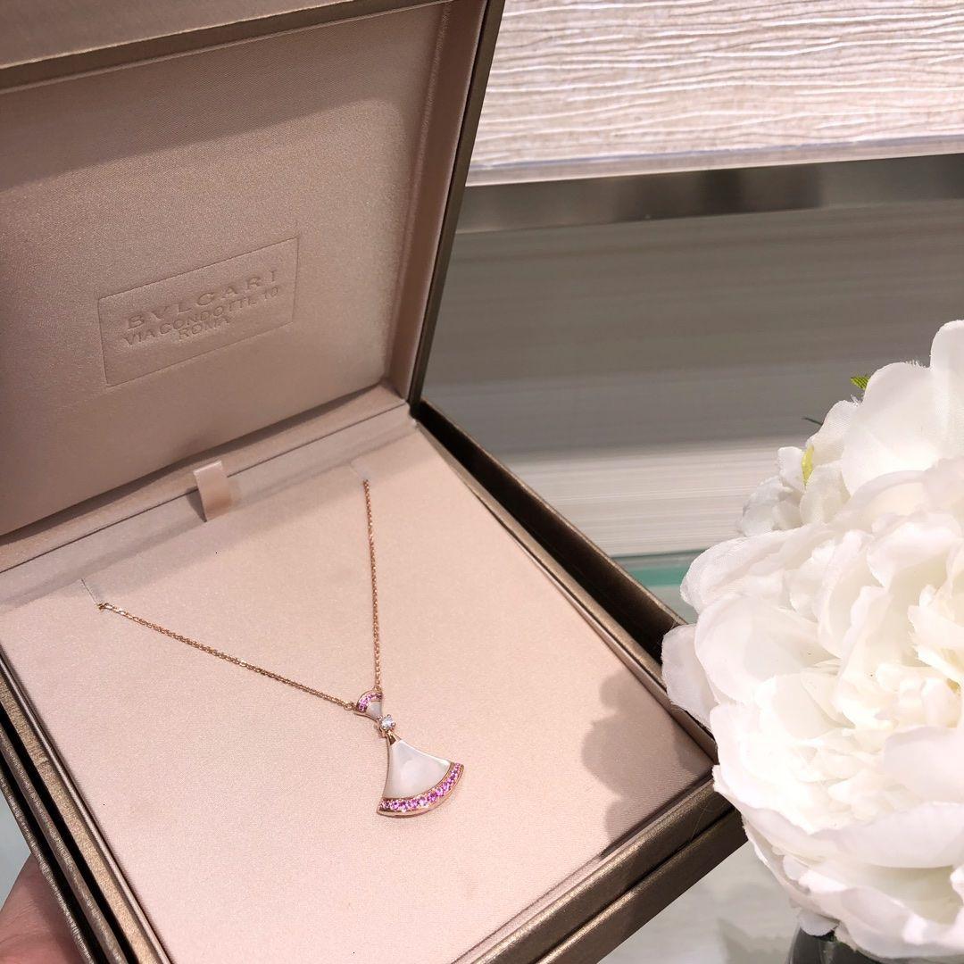 Collar de las mujeres Nueva WSJ029 joyería con exquisita caja de regalo # 112028 xia8806