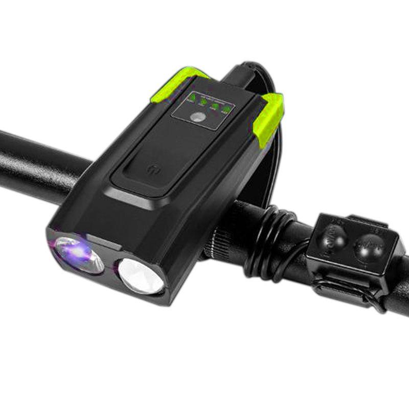 Велосипед свет Фарол велосипед освещение велосипед передний свет лампы USB огни 4000 мАч для езды на велосипеде