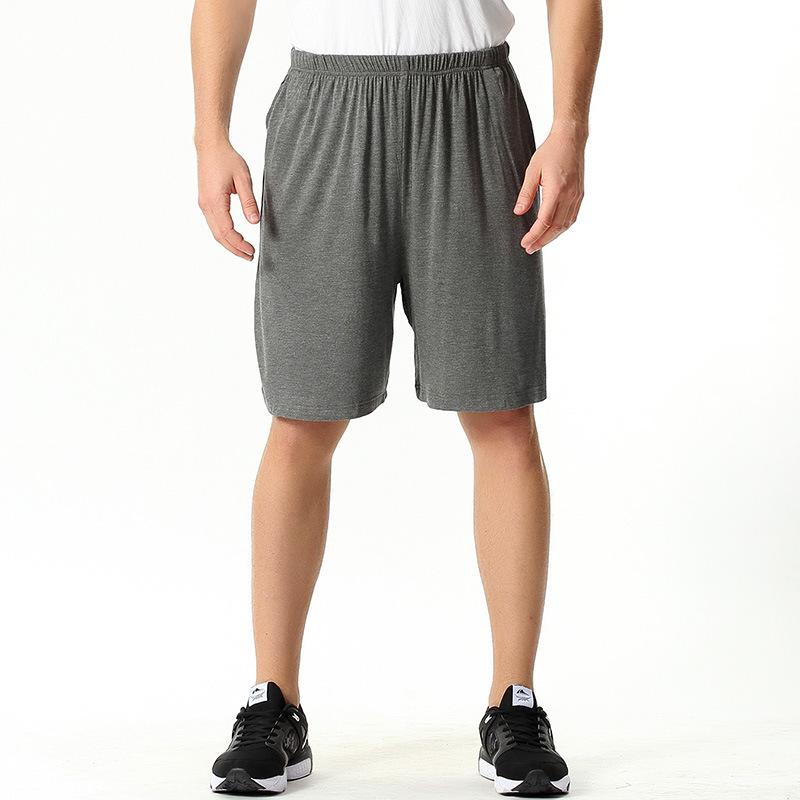 Pantalones casa de verano pijama corto de hombres casuales tamaño 4XL 7XL cortos de algodón Pijama Loose Pantalones de casa Ropa interior pijamas