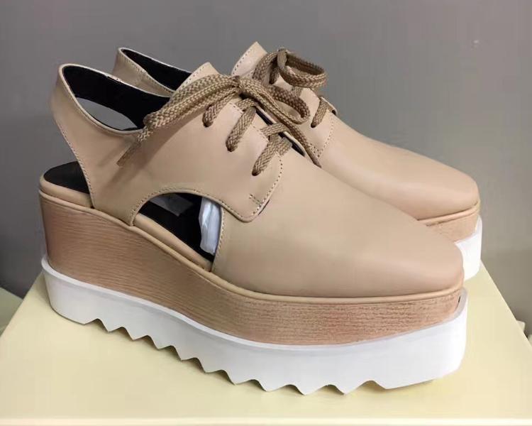 Di vendita calda scarpe da donna traspirante Flats Shoes Platform gladiatore sandali di cuoio Rihanna Creepers Scarpe con originale Boxs