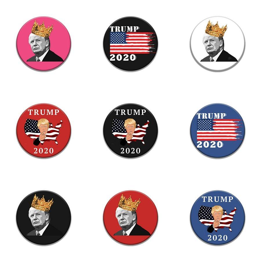10 1 Pz cranio punk Raffreddare Trump Distintivo ricamo patch per Abbigliamento Borse Accessori Scarpe giacca di jeans ferro sul cucito di Applique patch # 975