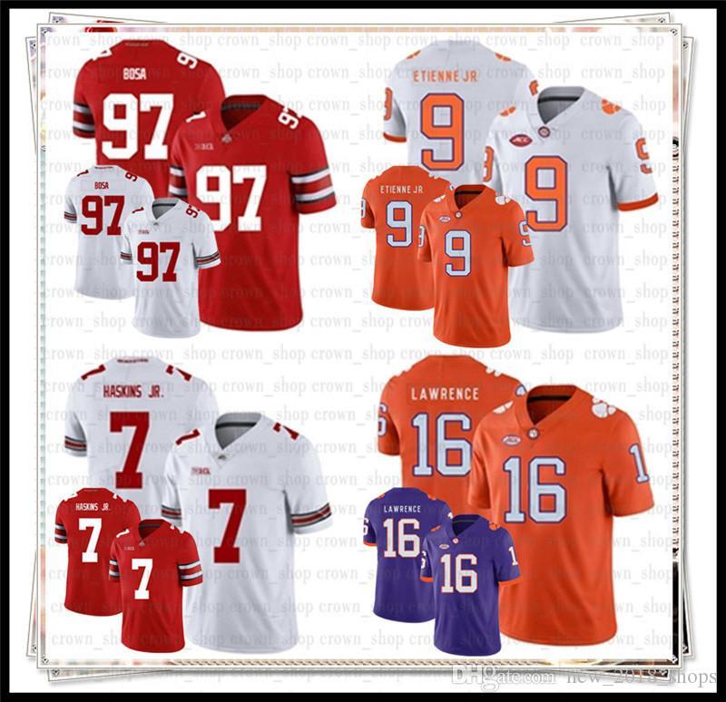 13 Tua Tagovailoa NCAA 7 Dwayne Haskins Jr Alabama Crimson Tide Jersey Nick Bosa Michigan Tom Brady Ohio State Buckeyes Futbol Jerseys39
