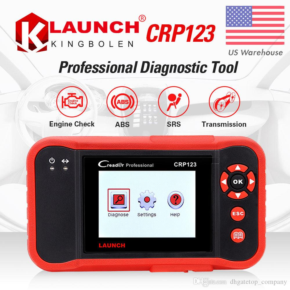 Starten Sie den Scanner X431 Creader VII Plus VII + Auto Codeleser OBD2 OBD 2. Starten Sie das Diagnosewerkzeug CRP123 OBDII
